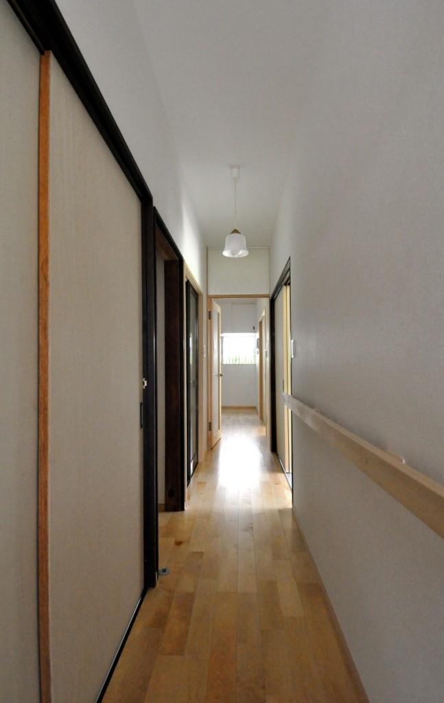 船底天井の家(リフォーム)の部屋 廊下