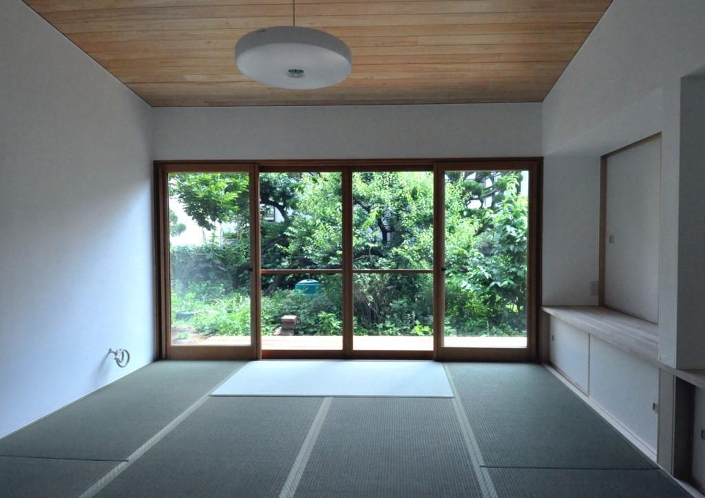 船底天井の家(リフォーム)の部屋 リビング