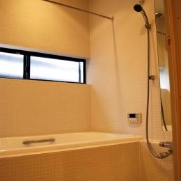 通り庭を持つ家 (浴室)