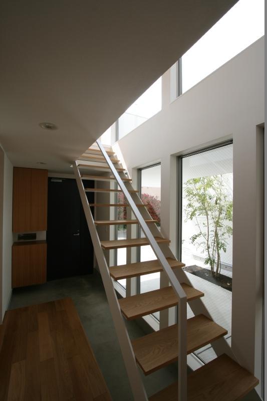 善福寺の家の写真 オープン型階段