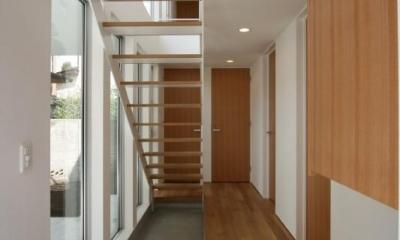 善福寺の家 (廊下・階段)