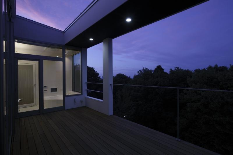 国見の家の部屋 テラス