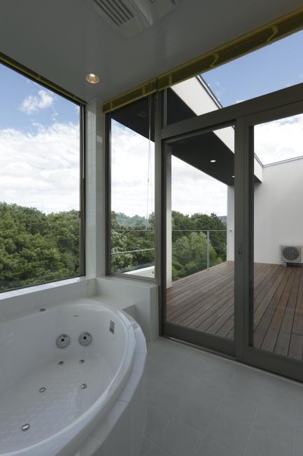 国見の家の部屋 バスルーム