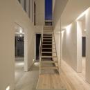 真岡の家の写真 大きな土間とオープン型階段