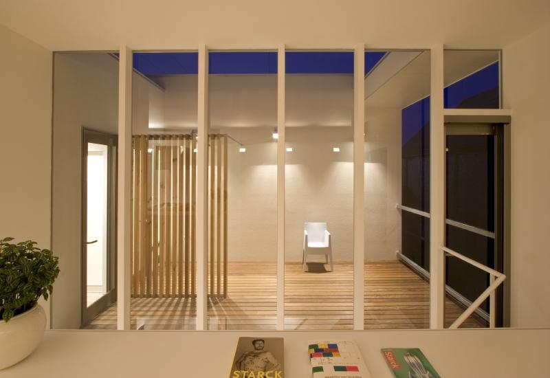真岡の家の部屋 テラス
