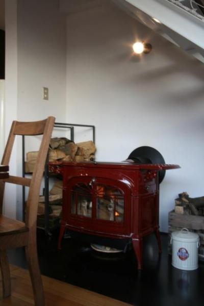 薪ストーブ (守谷の家)