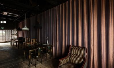 ならまちの町屋をコンバージョンしたブックカフェ。|Cafe Franz Kafka