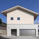 1階がコンクリート造、2階が木造の住宅