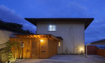 龍田町の家 (木のぬくもりを感じる外観)