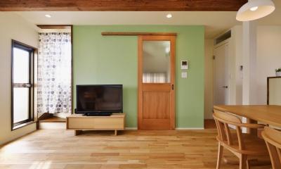 a邸・リビングをベストポジションにして、すがすがしく、片付けやすく・・・。 (2階LDK(リビング))