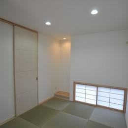 志布志市S邸 (地窓のある和室)