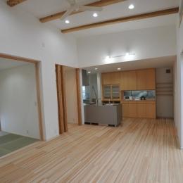 LDK・和室 (志布志市S邸)