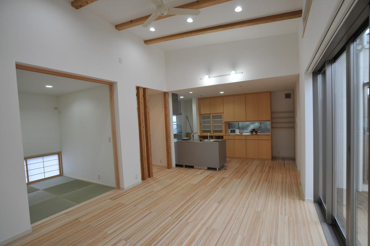 志布志市S邸の写真 LDK・和室
