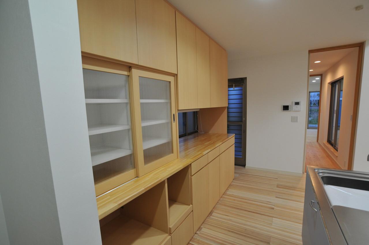 志布志市S邸の写真 食器棚