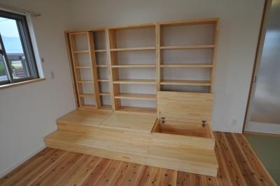 木製収納ボード (北諸県郡三股町N邸)