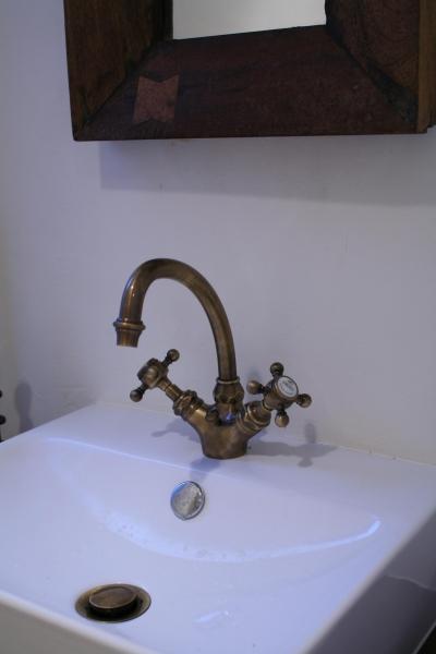 可愛い外国製の水栓金具 (O邸)