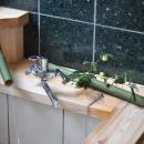 霧島市牧園町 H邸の写真 竹製の湯口