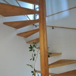 霧島市牧園町 H邸 (木製螺旋階段)