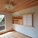 霧島市牧園町 H邸の写真 室内窓のある部屋