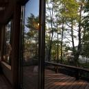 霧島市牧園町 H邸の写真 ウッドテラスからの眺め