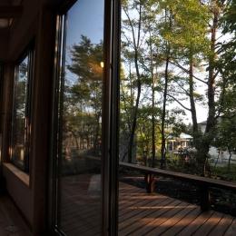 霧島市牧園町 H邸 (ウッドテラスからの眺め)