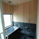 宮崎市K邸の写真 木の温もりのある浴室