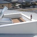 日当たりの良い屋上テラス