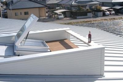 日当たりの良い屋上テラス (北諸県郡三股町 F邸)