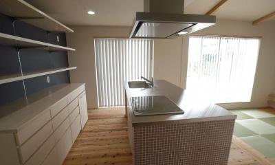 キッチン・カップボード|北諸県郡三股町 F邸