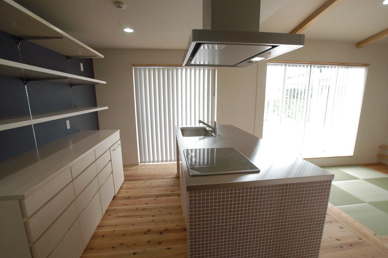 北諸県郡三股町 F邸の部屋 キッチン・カップボード