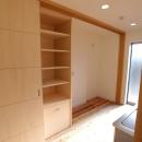 キッチン裏の収納戸