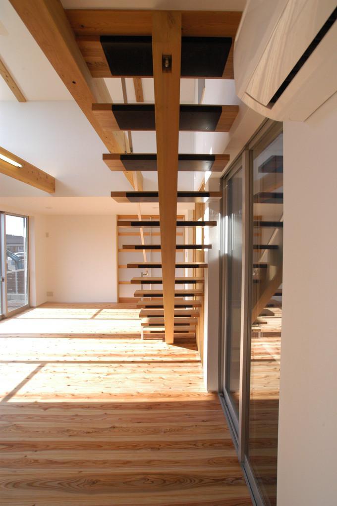 都城市 D邸の部屋 リビング階段