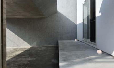 HOUSE M 『ガレージハウス × 中庭のある平屋』 (縁側)