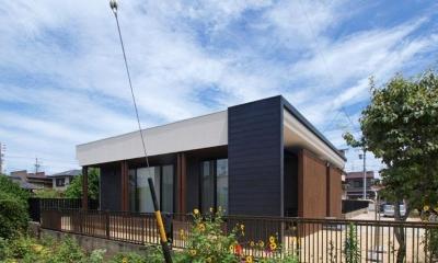 HOUSE SD 『木板塀の家』 (外観04)