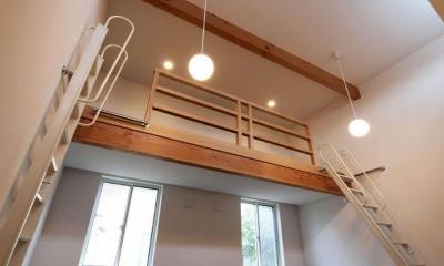 HOUSE SD 『木板塀の家』 (ロフトのある子供室)