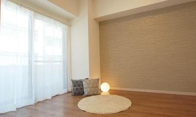SOHOを感じさせる都会的なデザイン空間 (洋室)