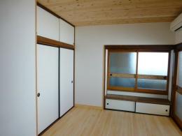 北小岩の家 (板張りに変更した和室)