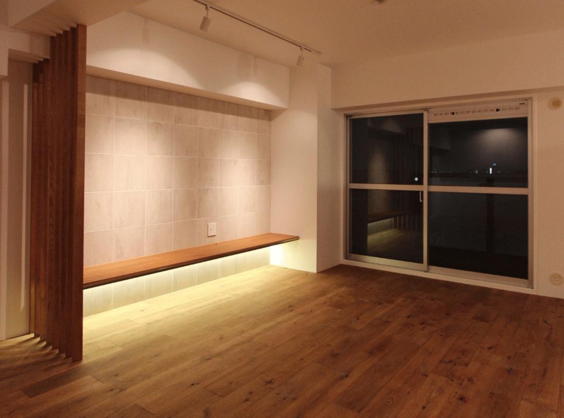 pure house 「光が溢れる仕掛け」の部屋 TVボード
