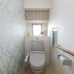 アクセントクロスを採用したトイレ