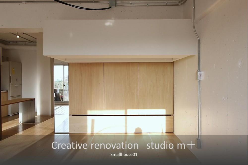 Smallhouse01 「狭小スペースと大収納」 (収納家具)