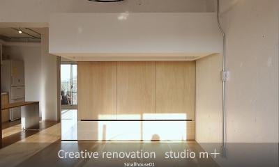 収納家具|Smallhouse01 「狭小スペースと大収納」