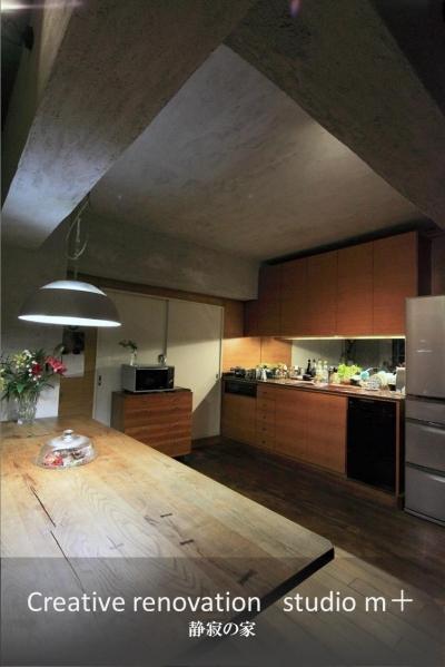 静寂の家 「プラスターが見せる大人の色気」 (LDK)