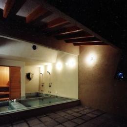 露天風呂の画像1