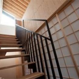 港北の家 (オープン型階段)