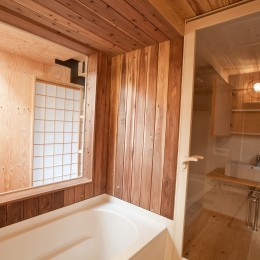 港北の家 (ぬくもりのあるお風呂)