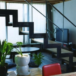寺尾西の家 (ダイニング・キッチン)