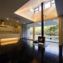 対面型キッチンのある空間