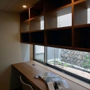 宝塚の家の写真 収納棚のあるスタディスペース
