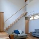 宝塚の家の写真 インパクトのある階段