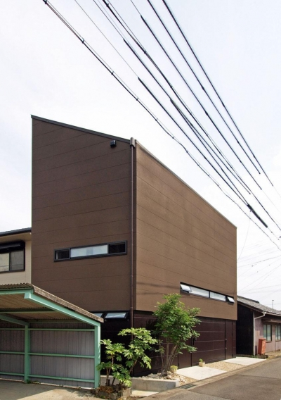 HOUSE O 『リビング階段の家』 (外観)
